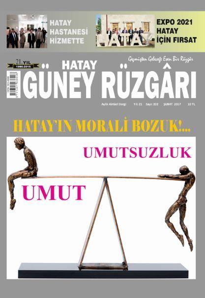 Güney Rüzgarı Dergisi - Sayı 202 - Şubat 2017