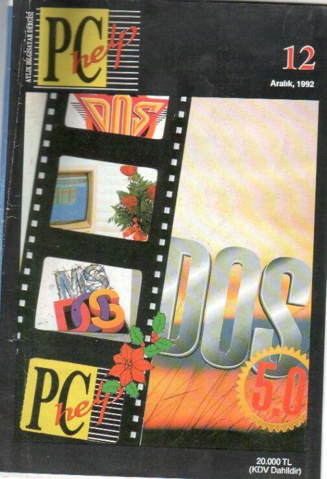 PC HELP DERGİSİ - ARALIK 1992 - SAYI 12