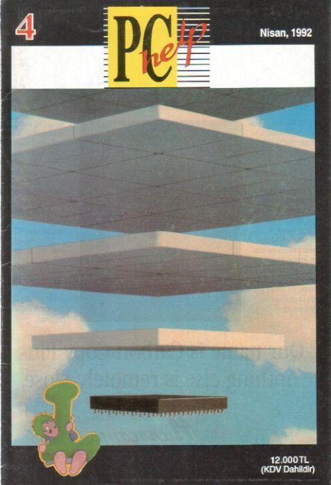 PC HELP DERGİSİ - NİSAN 1992 - SAYI 4