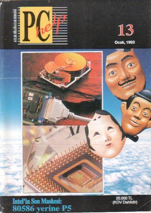 PC HELP DERGİSİ - OCAK 1993 - SAYI 13
