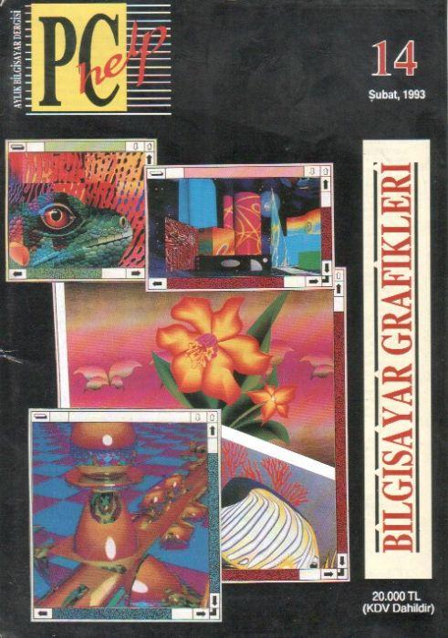 PC HELP DERGİSİ - ŞUBAT 1993 - SAYI 14