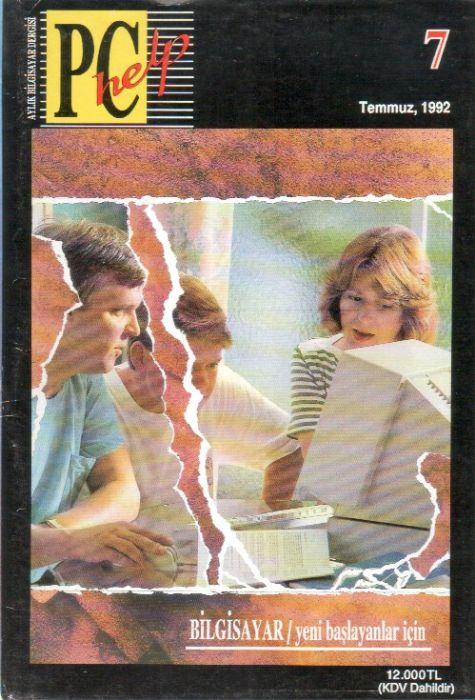PC HELP DERGİSİ - TEMMUZ 1992 - SAYI 7