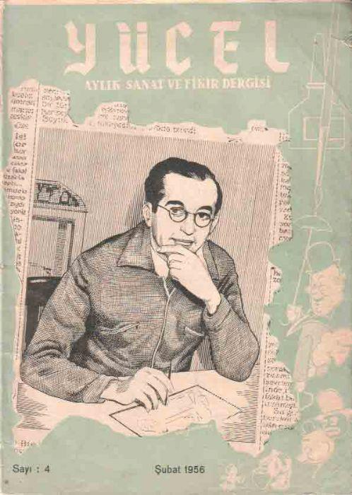 YÜCEL - AYLIK SANAT VE FİKİR DERGİSİ - SAYI 4 - ŞUBAT 1956