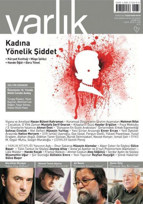 VARLIK DERGİSİ - KASIM 2012