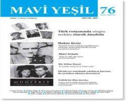 Mavi Yeşil Dergisi - Sayı 76 - Temmuz Ağustos 2012