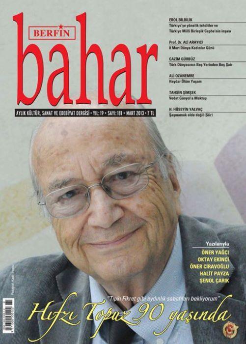 BERFİN BAHAR DERGİSİ - SAYI 181 - MART 2013