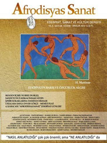 AFRODİSYAS DERGİSİ - SAYI 36 - KASIM ARALIK 2012