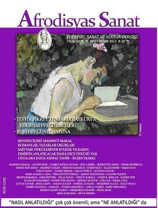 AFRODİSYAS DERGİSİ - SAYI 38 - MART NİSAN 2013
