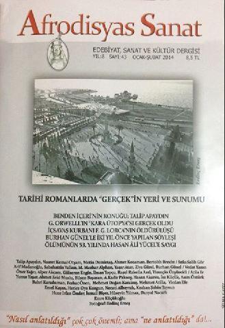 AFRODİSYAS SANAT DERGİSİ - SAYI 43 - OCAK ŞUBAT 2014