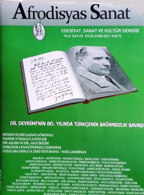 AFRODİSYAS SANAT DERGİSİ - SAYI 35 - EYLÜL EKİM 2012