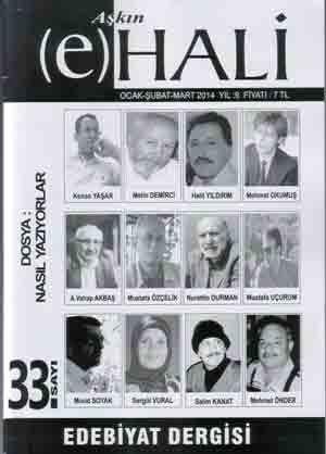 AŞKIN E HALİ DERGİSİ - SAYI 33 - OCAK ŞUBAT MART 2014