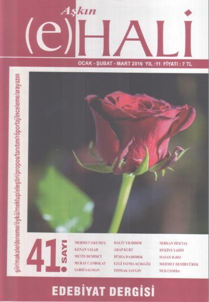 Aşkın (e) Hali Dergisi - Sayı 41 - Ocak Şubat Mart 2016