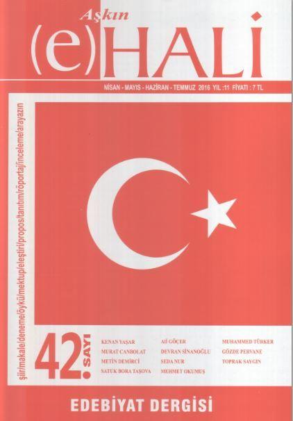 Aşkın (e) Hali Dergisi - Sayı 42 - Nisan Mayıs Haziran 2016