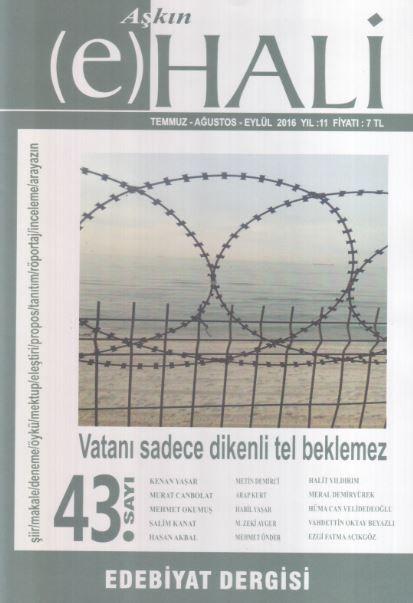 Aşkın (e) Hali Dergisi - Sayı 43 - Temmuz Ağustos Eylül 2016