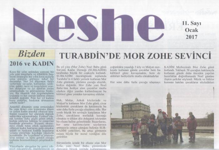 Neshe Bülteni - Sayı 11 - Kasım 2016