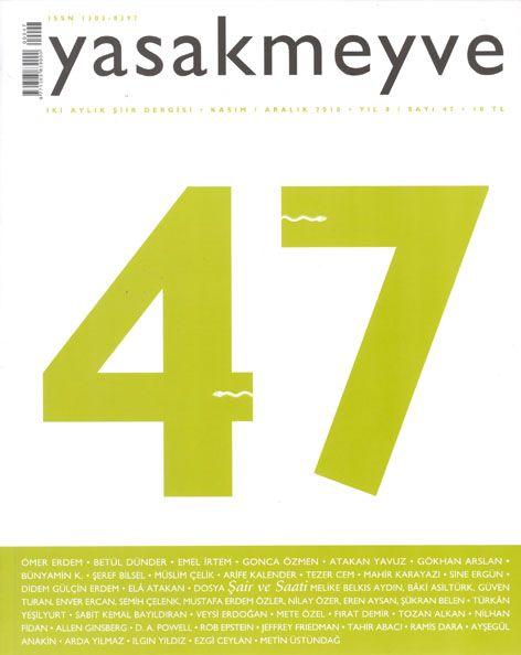 YASAK MEYVE DERGİSİ - SAYI 47