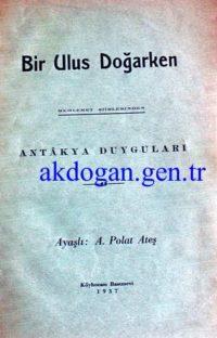 Yeni Mecmua - Sayı 42 - 1 Nisan 1930