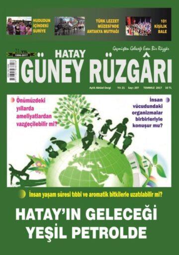 Güney Rüzgarı Dergisi - Sayı 207 - Temmuz 2017