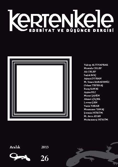 KERTENKELE DERGİSİ - SAYI 26 - ARALIK 2013