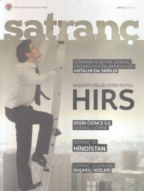 Satranç Dergisi - Sayı 3 - Ocak 2017