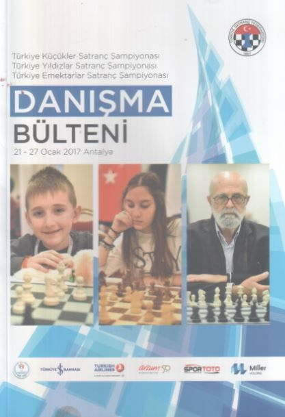 Türkiye Küçükler Satranç Şampiyonası - 21 - 27 Ocak 2017 Antalya - Danışma Bülteni