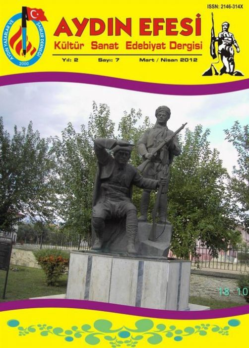 AYDIN EFESİ DERGİSİ - SAYI 7 - MART NİSAN  2012