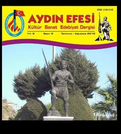 AYDIN EFESİ DERGİSİ - SAYI 9 - TEMMUZ AĞUSTOS 2012