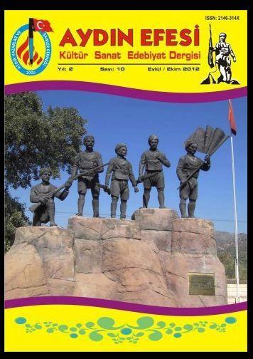 AYDIN EFESİ DERGİSİ - SAYI 10 - EYLÜL EKİM 2012