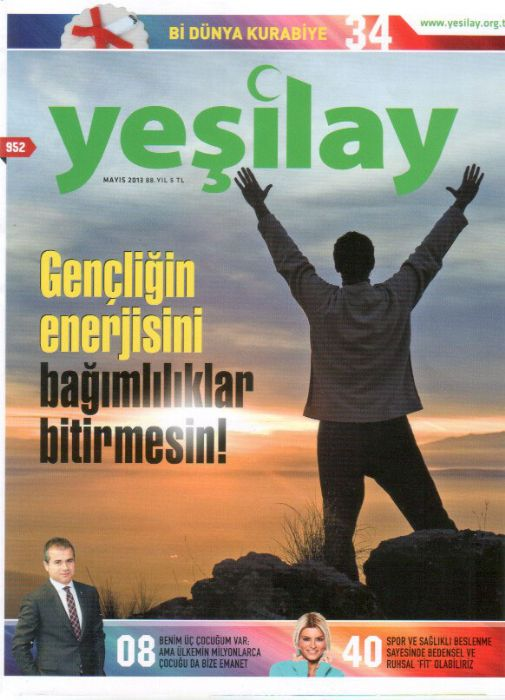 YEŞİLAY DERGİSİ - SAYI 952
