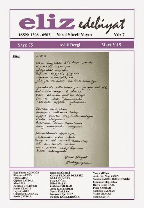 Eliz Dergisi - Sayı 75 - Mart 2015