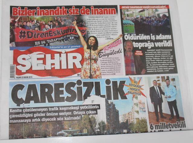 Eskişehir - Şehir  Gazetesi