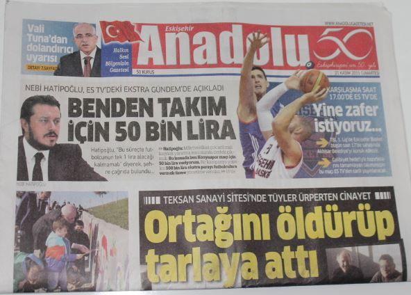 Eskişehir - Anadolu  Gazetesi