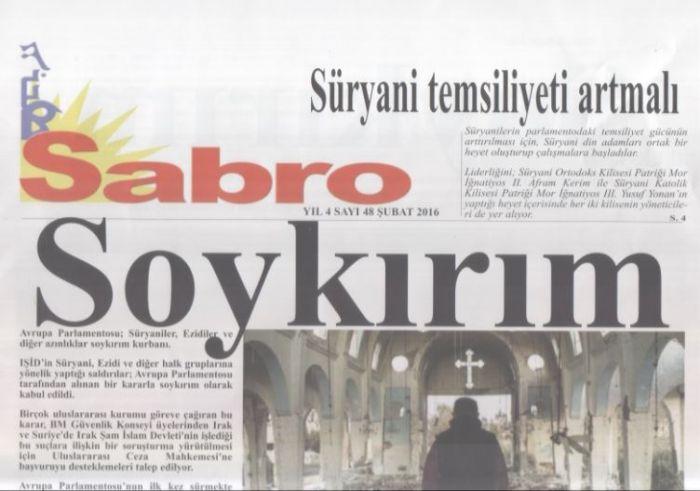 Sabro Gazetesi - Sayı 48 - Şubat 2016