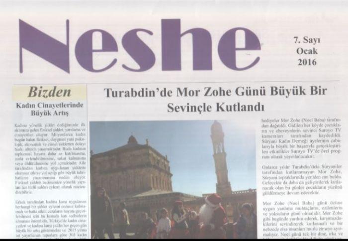 Neshe Bülteni - Sayı 7 - Ocak 2016