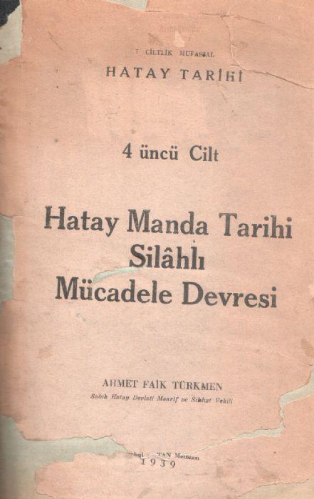 MUFASSAL HATAY TARİHİ - 4. CİLT