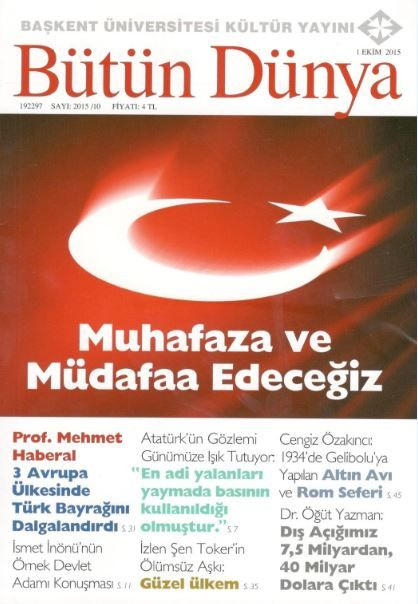 Bütün Dünya Dergisi - Sayı 2015/10 - Ekim 2015
