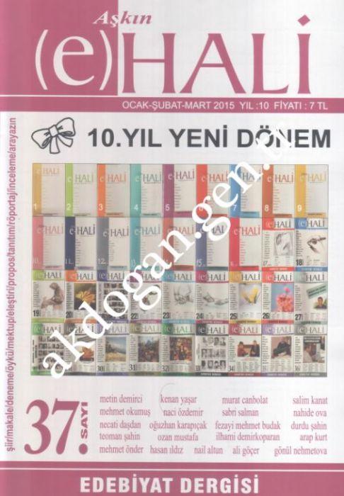 AŞKIN (E) HALİ DERGİSİ - SAYI 37 - OCAK ŞUBAT MART 2015