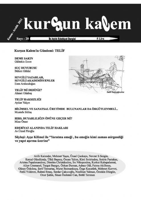 ELİZ DERGİSİ - SAYI 47 - KASIM 2012