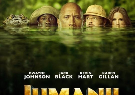 Jumanji: Vahşi Orman (2017)