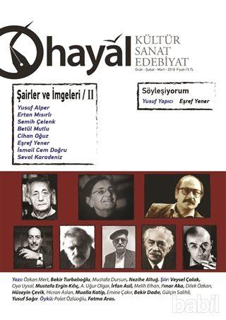Hayal Kültür Sanat Edebiyat Dergisi, Sayı 64, Ocak-Şubat-Mart 2018
