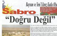Sabro Gazetesi, Sayı 70, Aralık 2017