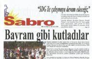 Sabro Gazetesi, Sayı 71, Ocak 2018