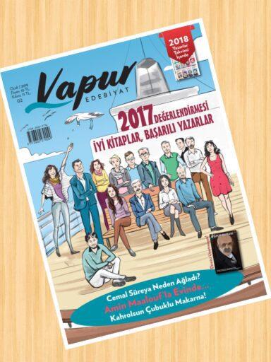 Vapur Edebiyat Dergisi, Sayı 2, Ocak 2018