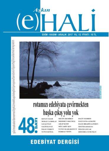 Aşkın e Hali Dergisi, Sayı 48, Ekim Kasım Aralık 2017