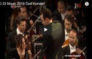 CSO 23 Nisan 2018 Özel Konseri