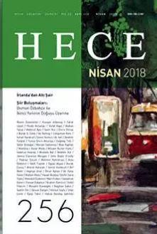 Hece Dergisi, Sayı 256, Nisan 2018