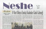 Neshe Bülteni, Sayı 16, Nisan 2018