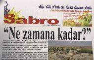 Sabro Gazetesi Sayı 74 Nisan 2018