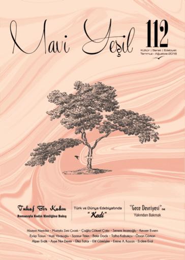 Mavi Yeşil Dergisi, Sayı 112, Temmuz Ağustos 2018