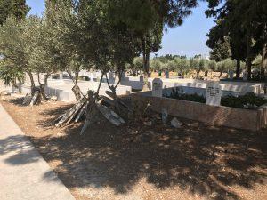 Platani Köyü Eski, Mezarlık